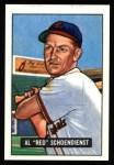 1951 Bowman REPRINT #10  Red Schoendienst  Front Thumbnail