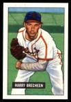 1951 Bowman REPRINT #86  Harry Brecheen  Front Thumbnail