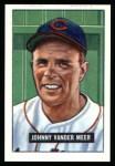 1951 Bowman REPRINT #223  Johnny Vander Meer  Front Thumbnail