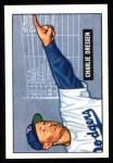 1951 Bowman REPRINT #259  Chuck Dressen  Front Thumbnail