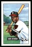 1951 Bowman REPRINT #242  Sam Jethroe  Front Thumbnail