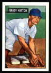 1951 Bowman REPRINT #47  Grady Hatton  Front Thumbnail