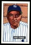 1951 Bowman REPRINT #181  Casey Stengel  Front Thumbnail