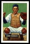 1951 Bowman REPRINT #142  Aaron Robinson  Front Thumbnail
