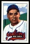 1951 Bowman REPRINT #150  Mike Garcia  Front Thumbnail
