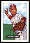 1951 Bowman REPRINT #292  Eddie Pellagrini  Front Thumbnail