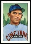 1951 Bowman REPRINT #180  Howard Fox  Front Thumbnail