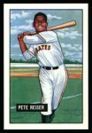 1951 Bowman REPRINT #238  Pete Reiser  Front Thumbnail