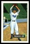 1951 Bowman REPRINT #118  Preacher Roe  Front Thumbnail