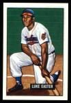 1951 Bowman REPRINT #258  Luke Easter  Front Thumbnail