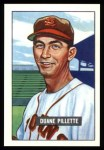 1951 Bowman REPRINT #316  Duane Pillette  Front Thumbnail