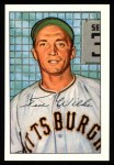 1952 Bowman REPRINT #138  Ted Wilks  Front Thumbnail