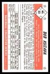 1953 Bowman B&W Reprint #33  Bob Kuzava  Back Thumbnail