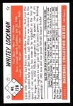 1953 Bowman REPRINT #128  Whitey Lockman  Back Thumbnail