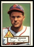 1952 Topps REPRINT #115  George Munger  Front Thumbnail