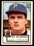 1952 Topps REPRINT #138  Bill MacDonald  Front Thumbnail