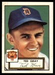 1952 Topps REPRINT #86  Ted Gray  Front Thumbnail