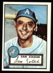 1952 Topps REPRINT #231  Sam Zoldak  Front Thumbnail