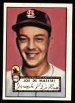1952 Topps REPRINT #286  Joe DeMaestri  Front Thumbnail
