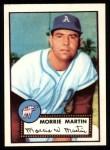 1952 Topps REPRINT #131  Morrie Martin  Front Thumbnail