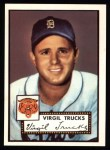 1952 Topps REPRINT #262  Virgil Trucks  Front Thumbnail
