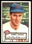 1952 Topps REPRINT #249  Bobby Adams  Front Thumbnail