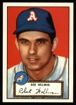 1952 Topps REPRINT #41  Bob Wellman  Front Thumbnail