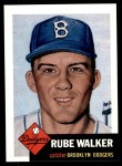 1953 Topps Archives #134  Rube Walker  Front Thumbnail