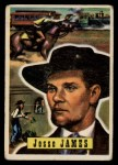 1956 Topps Round Up #51  Jesse James  Front Thumbnail