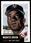 1953 Topps Archives #62  Monte Irvin  Front Thumbnail