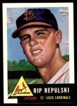 1953 Topps Archives #172  Rip Repulski  Front Thumbnail