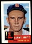 1953 Topps Archives #139  Sammy White  Front Thumbnail