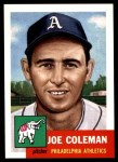 1953 Topps Archives #279  Joe Coleman  Front Thumbnail