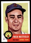1953 Topps Archives #163  Fred Hatfield  Front Thumbnail