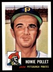 1953 Topps Archives #83  Howie Pollet  Front Thumbnail