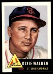1953 Topps Archives #190  Dixie Walker  Front Thumbnail