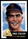 1953 Topps Archives #180  Virgil Stallcup  Front Thumbnail