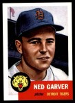 1953 Topps Archives #112  Ned Garver  Front Thumbnail