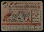 1958 Topps #361  Mike Fornieles  Back Thumbnail