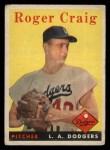 1958 Topps #194  Roger Craig  Front Thumbnail