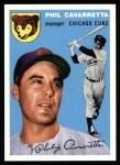 1954 Topps Archives #55  Phil Cavarretta  Front Thumbnail