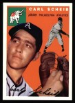 1954 Topps Archives #118  Carl Scheib  Front Thumbnail