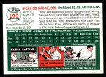 1954 Topps Archives #199  Rocky Nelson  Back Thumbnail