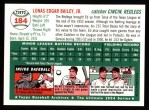 1954 Topps Archives #184  Ed Bailey  Back Thumbnail