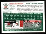 1954 Topps Archives #81  Dave Hoskins  Back Thumbnail