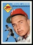 1954 Topps Archives #41  Willie Jones  Front Thumbnail
