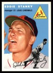 1954 Topps Archives #38  Eddie Stanky  Front Thumbnail
