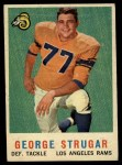 1959 Topps #121  George Strugar  Front Thumbnail