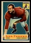 1956 Topps #46  Len Teeuws  Front Thumbnail