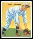1933 Goudey Reprint #109  Joe Cronin  Front Thumbnail